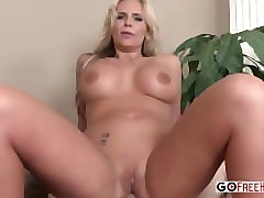 blonde housewife phoenix marie with big tits anal fucked pov