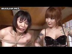 Japanese Slave Girl Gets Herself Tied-up For Being Naughty And Punishment Is On Its Way