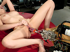 Hottest anal, fetish xxx video with horny pornstar Ashley Jane from Fuckingmachines