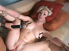 Crazy anal, fetish xxx movie with horny pornstars Adrianna Nicole and Kurt Lockwood from Dungeonsex