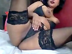 Indian punjabi aunty on cam