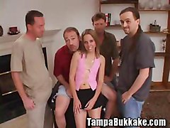 Teen Anal Virgin Ass Banging Bukkake