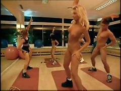 Girls And Mans Naked Gym Training By Snahbrandy