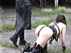 German Fetish Fuck In Thigh Boots